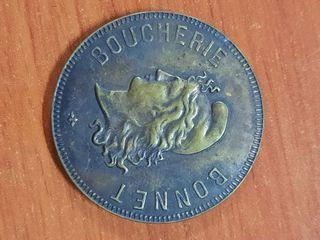 rara medalla francesa