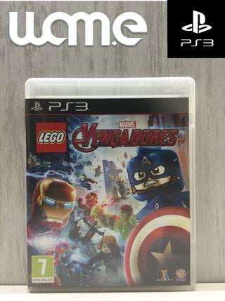 JUEGO PS3 - LEGO VENGADORES