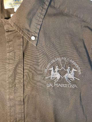 Camisa negra LA MARTINA