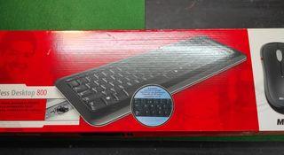 Teclado inalámbrico wireless Desktop 800 Microsoft