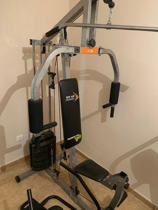 Gimnasio, máquina multifuncion, gym