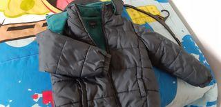 abrigo plumas y polar niño