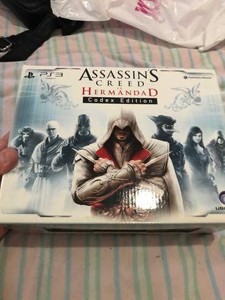 Assassins creed la hermandad códex edition ps3
