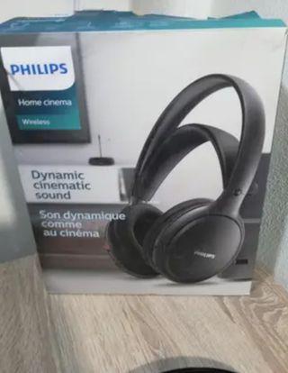 Auriculares inalámbricos Philips SHC5200 Negro