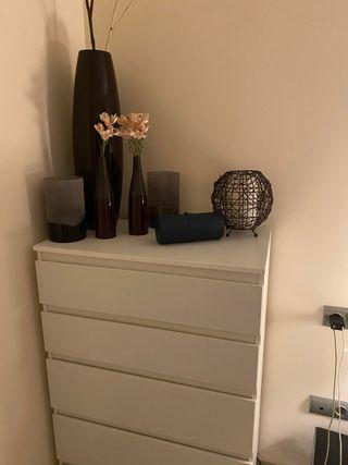 Comoda habitación 5 cajones - Kullen Ikea