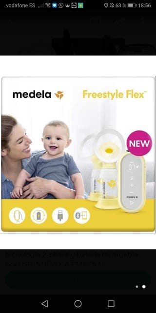 Sacaleches Freestyle doble Medela
