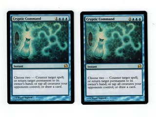 MTG 2 x cryptic command (dictado críptico)