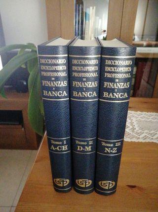 Diccionario enciclopédico Finanzas y Banca