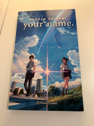 libro de your name