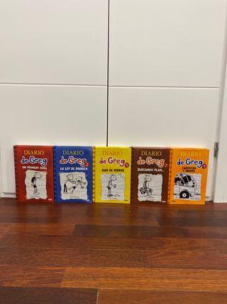 Libros sueltos el 1, 2, 4, 7 y 9