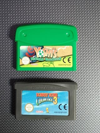 Juegos Gameboy Advance.