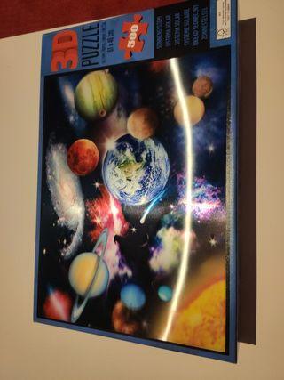 puzzle 3D 500 piezas.61x46cm