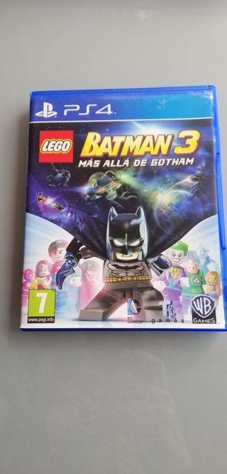 juego PS4 lego Batman 3
