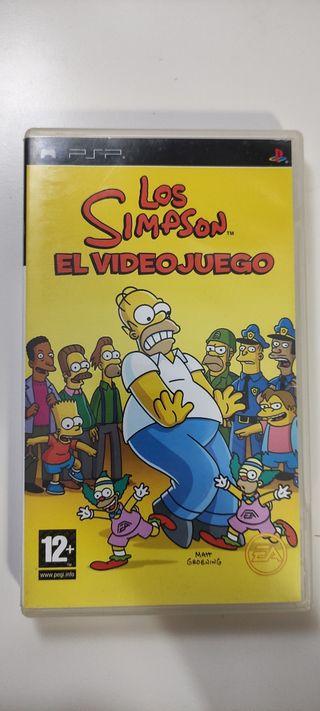 Los Simpson PSP