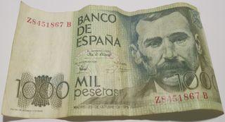 Billete 1000 Pesetas 1979