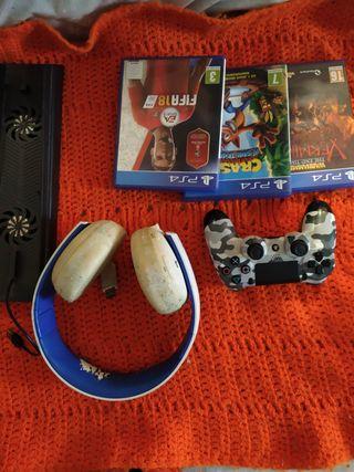 Pack artículos PS4