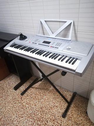 piano, teclado, órgano
