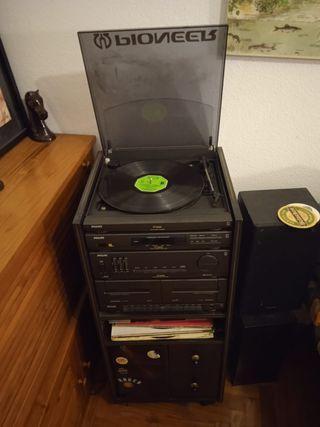 equipo Philips Vintage tocadiscos radio cintas