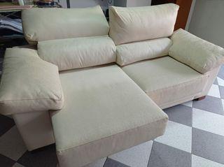 sofá reclinable y esténcible