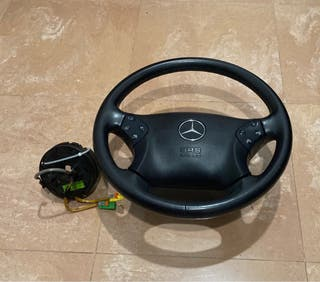 Volante mercedes y anillo airbag w203 elegant