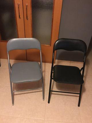 2 sillas x 10€