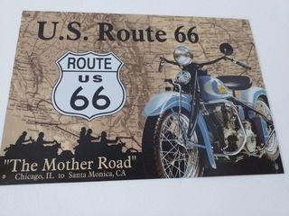 Ruta 66 litografia