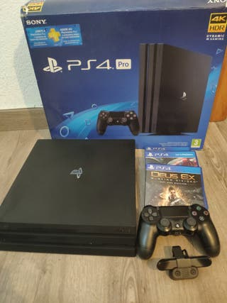 PS4 PRO 1TB 4K HDR (2018) + scuff y accesorios