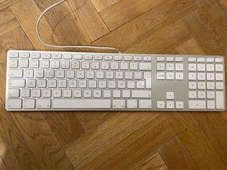 Teclado original Apple con pad numérico USB