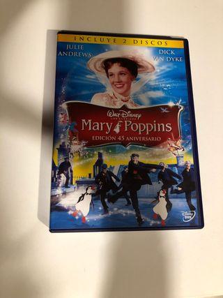 Dvd Mary Poppins. Edición 45 aniversario