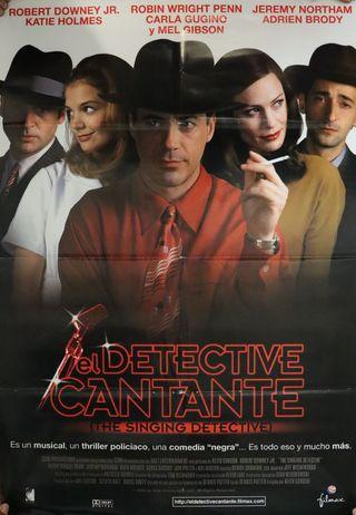 PÓSTER EL DETECTIVE CANTANTE