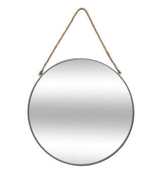 Espejo redondo con cuerda