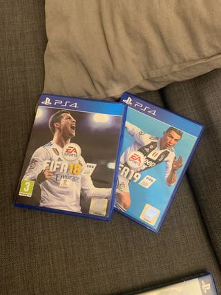 FIFA 19 y FIFA 18