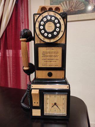 REPRODUCCIÓN TELÉFONO ANTIGUO DE PARED CITY CALL