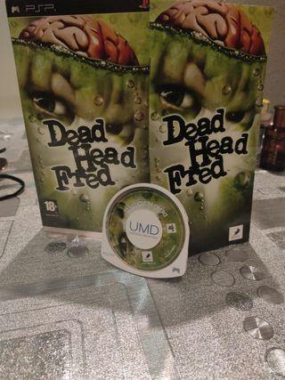 JUEGO PSP DEAD HEAD FRED