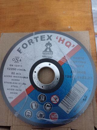 Discos de corte amoladora 125mm