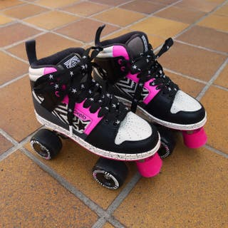 Patines roller quads marca Oxelo. Talla 37