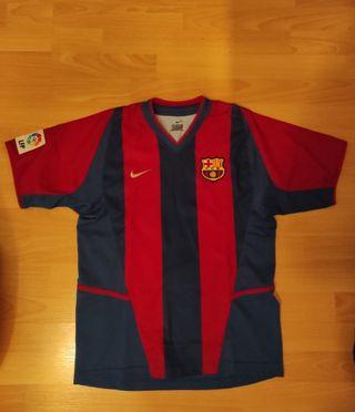 1a equipación FC Barcelona 2003-04