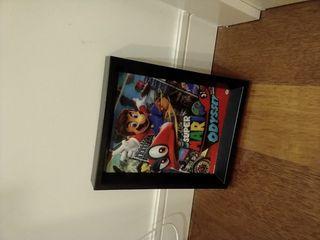 Mario odyssey cuadro en movimiento 3d