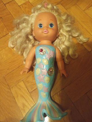 muñeca sirena