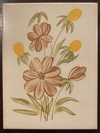 Azulejo cedolesa flores