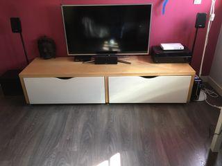 SmartTV 46'' + HomeTheater + Peanas Altavoces
