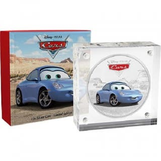 Moneda Disney Pixar SALLY 1 oz plata