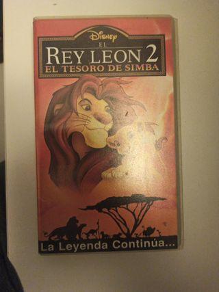 Pelicula El Rey Leon, El tesoro de Simpa en VHS