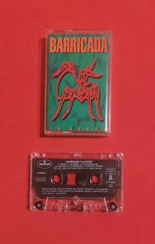 cassette BARRICADA la araña