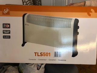 Un radiador eléctrico