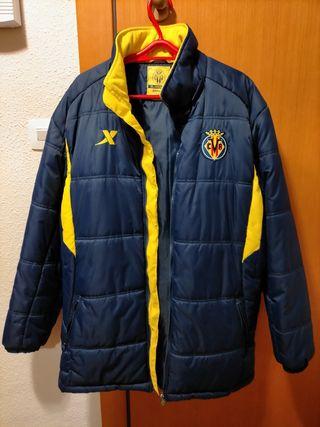 chaquetón 3/4 oficial Villareal CF.