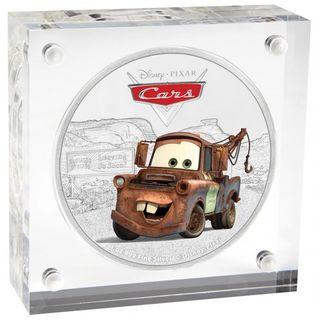 Moneda Disney Pixar MATE 1 oz plata.