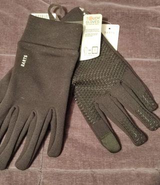Guantes Polartec Tactiles Talla L/XL, A estrenar