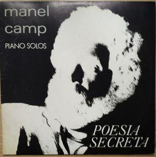 Disco de vinilo Manel Camp Poesía Secreta