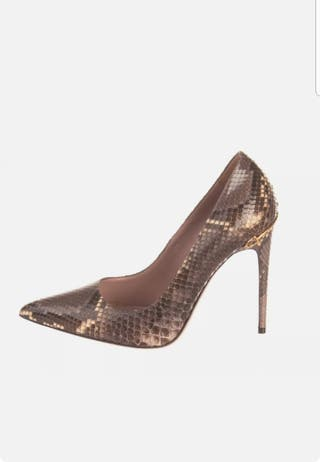 zapatos GUCCI piel de pitón nuevos